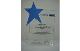 VOLVO certified supplier